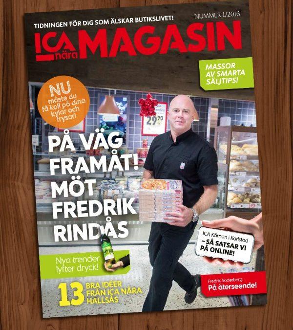 Nytt nr av ICA Magasin