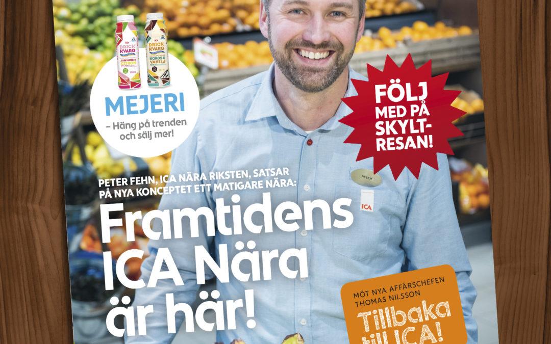 Årets tredje nummer av ICA Nära Magasin är här!